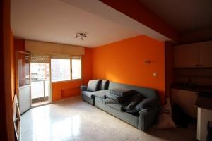 Antes de la reforma del apartamento - Salón