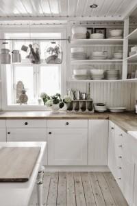 Colores claros en casas pequeñas
