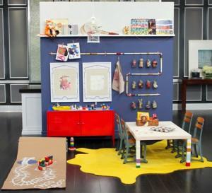 Decorar el cuarto de los niños: zona de juegos
