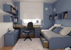 Espacio y almacenaje: Reconvertir la habitación de los niños