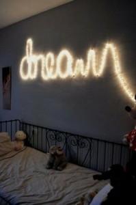 cartel luminoso - Reconvertir la habitación de los niños