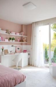 mesa de estudio - Reconvertir la habitación de los niños