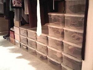 Decoración contra el estrés - almacenaje