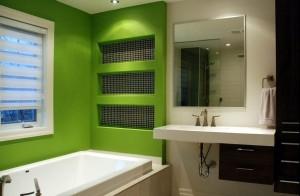 Renovar baños sin obras: Pintura