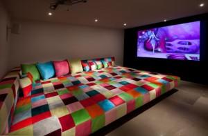 sala de cine en casa