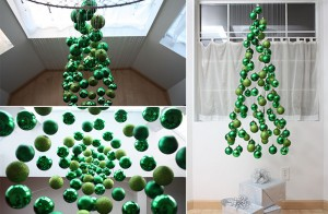 árbol de navidad moderna