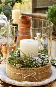 Ambiente romántico también en navidad.